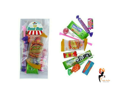 73 G RETRO PACK MIXED SWEETS KIDS Bday Party Favours Loot Bag Pinata Filler UK