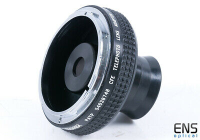 PATP CFE Telephoto Lens Adapter, Monocle for Canon FD