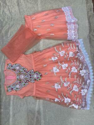 Girls stitched Asian Pakistani /& Indian Complete Suite *NEW And Unsused*