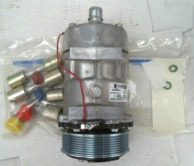 Carrier Sanden SD7H15 AC Compressor Kit w/Clutch, Loose Fittings, pn AC501-298A