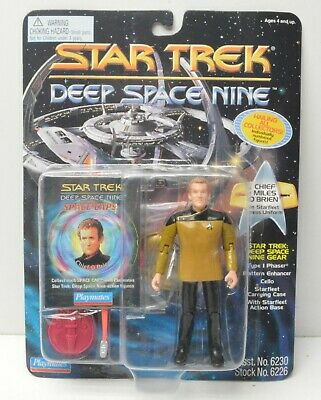 "Star Trek Collector Series Chief Miles O/'Brien 9/"" Action Figure NIB"