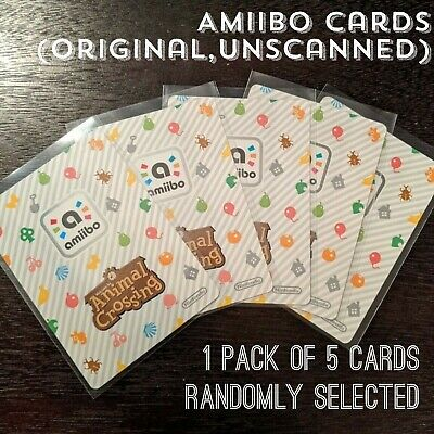 Animal Crossing Amiibo Cards, Pack Of 6 (+) Random Series 2, 3, 4 Unscanned