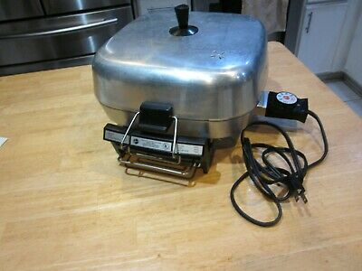VTG Hoover Electric Fry Pan 1200 WATT MODEL 8671