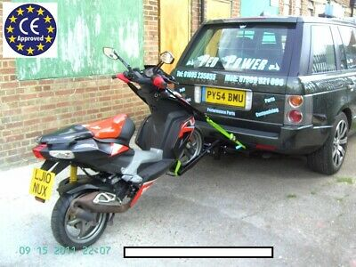 A TRAILER TRIKE/MOTORCYCLE/SCOOTER QUICK RELEASE TOWING FRAME a