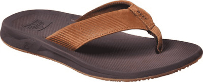 Men's Reef Phantom II Leather Flip Flop Bronze Full Grain Leather