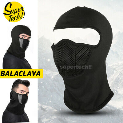 Ski Motorcycle Cycling Balaclava Full Face Mask Scarf Windproof Outdoor Winter