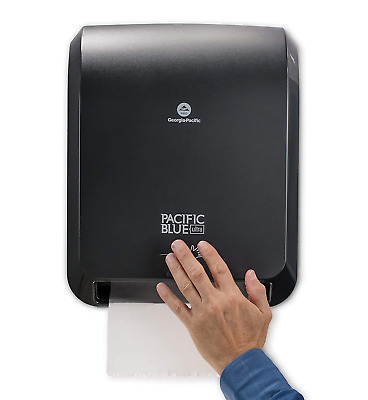 Pacific Blue Ultra Automated Paper Towel Dispenser Durable Black Finish