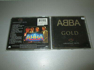 CD - ABBA - Gold - Greatest Hits - Polydor 517 007-2