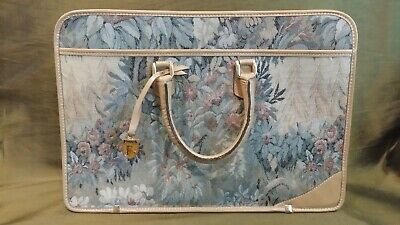 Vintage French Luggage Company Paradise Briefcase Attache