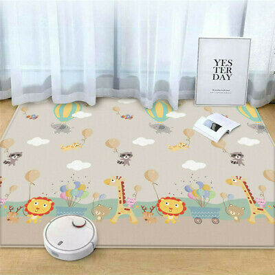 Large 2 SIDE BABY PLAY MAT Children's Creeping Education Soft Foam Baby Carpet