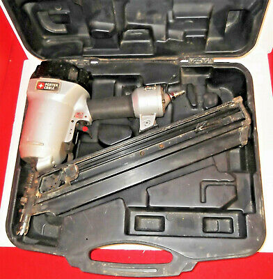 Porter Cable 3-1/2 in. 30 Degree to 34 Degree Clipped-Head Framing Nailer Nice!