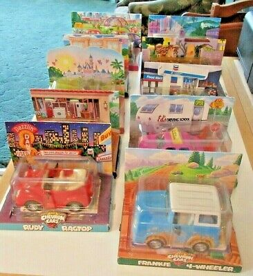 Lot of 10 Collectible Chevron Cars New in Box