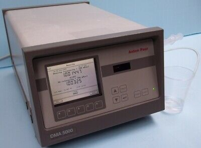 Anton Paar, Dma 5000 Density Meter, Model Dma 5000 Viscosity An D Sg < 700 Mpas