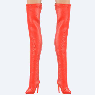 Red Clear transparent boots fit FR2 FR6.0 NU.face 3.0 Fashion royaltypoppy parke
