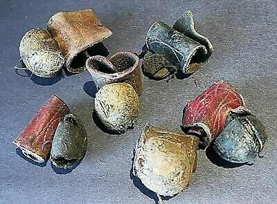 6x Rooster Boxing Gloves Cock Fighting Spur Cover Vintage Barn Find Antique RARE