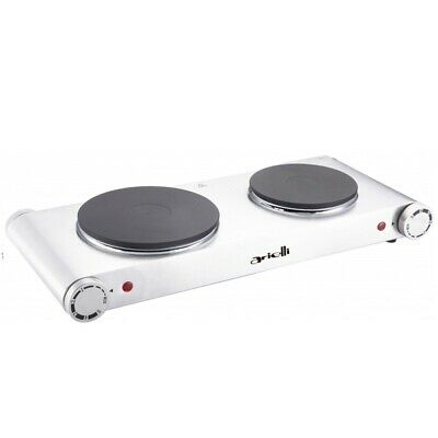 Hot Plate 2500W Double Electric Cooker Hob Table Top Portable