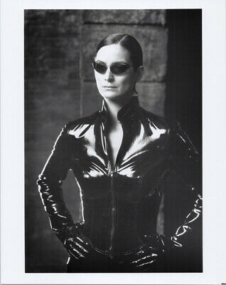 Ducati 996 The Matrix Carrie Anne Moss A4 picture poster Choice of frame