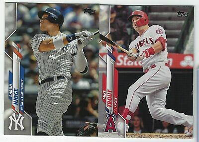 2020 Topps Series 1 Baseball Base & Rookie #1-350 Complete Your Set - You Pick!