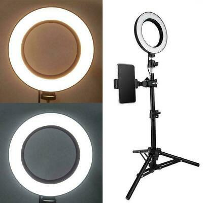 6 Inch LED Ring Video Light Selfie Fill Lamp For Photography L0G7