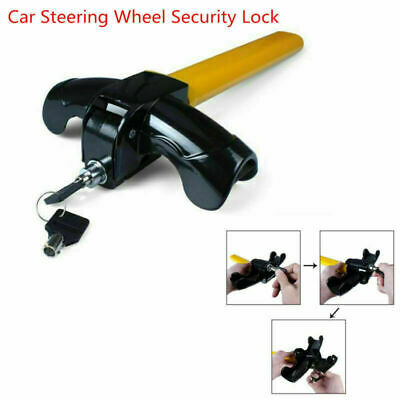 Car Auto Steering Wheel Anti-Theft Device T Style Security Locking Universal