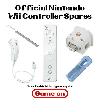 Official Genuine Nintendo Wii Remote Parts Controller Nunchuck Motion Plus Strap