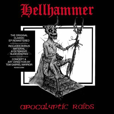 Hellhammer - Apocalyptic Raids CD ALBUM NEW (5TH JUNE)
