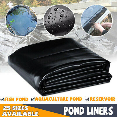 8-33ft Pond Liners Gardens Pools PVC Pond Liners Membrane Safe and Long-lasting