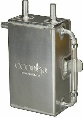 OBP Baffled 1 Litre Square Bulk Head Mount Oil Catch Tank (OBPCT005)