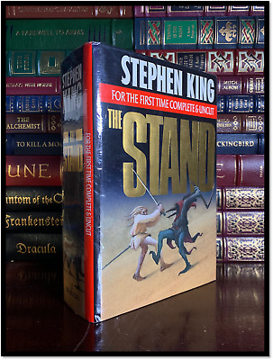 The Stand ✎SIGNED✎ by STEPHEN KING Hardback Complete & Uncut Edition