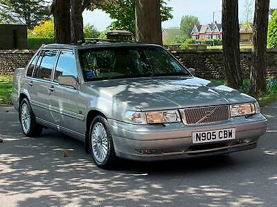1995 Volvo 960 II 2.5 GLE Facelift (S90)  Auto Saloon.Silver. Only 76,000 Miles