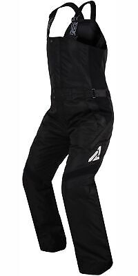FXR Sugar Bib Womens Snowmobile Pants Black 12