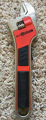 Black /& Decker AAW100 8-Inch Auto Wrench Adjusting Wrench