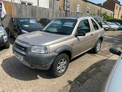 2001 Land Rover Freelander 2.0 TD4 Hard Top 3dr Auto SUV Diesel Automatic