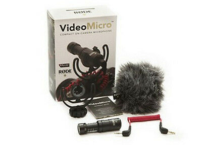 New Rode VideoMicro Compact On-Camera Recording Microphone for Camera Video