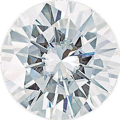 0.23 CT Charles and Colvard Forever Un Moissanite Desseré Coupe Ronde Pierre 4MM