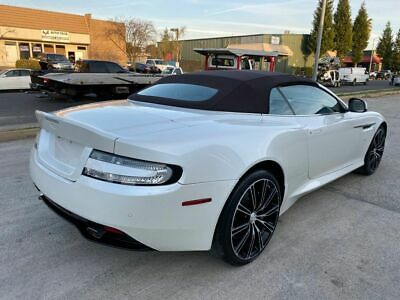 2016 Aston Martin DB9 GT/Convertible 6.0L/12V 2016 Aston Martin DB9 GT wrecked salvage rebuildable damaged Low Reserve 16