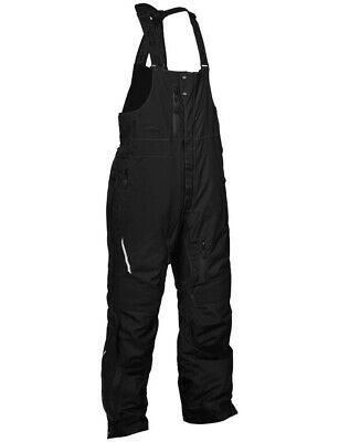 Castle X Tundra G2 Mens Snow Bibs Black XL Short