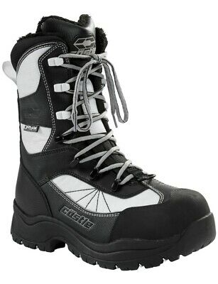 Castle X Force 2 Womens Snowmobile Boots White 8 USA