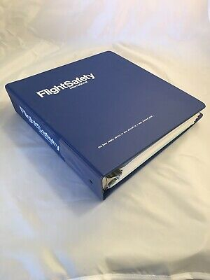 Falcon 10 - FlightSafety International Pilot Training PERFORMANCE Manual- Jan 89