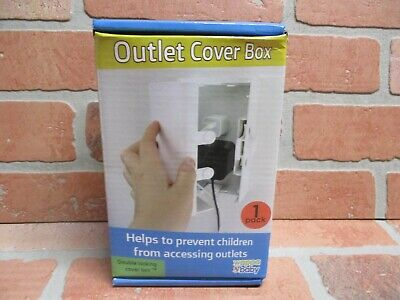 Baby Safety Outlet Cover BOX, Double Locking