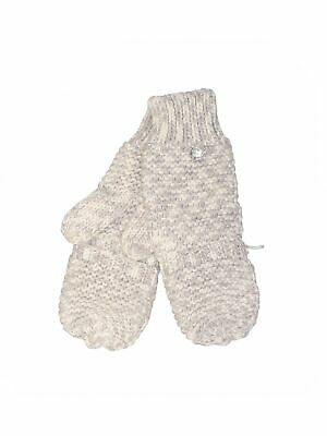 Unbranded Women Gray Mittens One Size