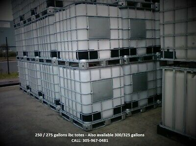 ibc totes tank 250/275 Gallons - plastic containers, water tank