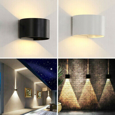 IP65 LED Wall Light Modern Indoor Outdoor Sconce Lamp Fixtures Up Down Porch New