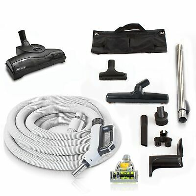 Prolux 30' Central Vacuum Hose Kit with Turbo Nozzles & 1 YR