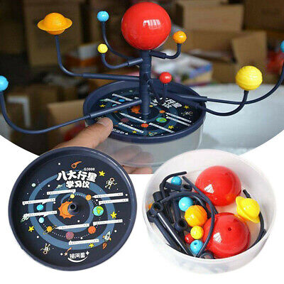 Inflatable Solar System Imitation Planets Learning Science Balloons Teaching Toy