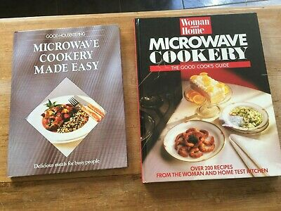 Two Microwave Cookery Books - Hard Back