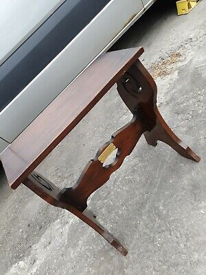 Antique piano table side stool. Presented as a marriage present in 1930