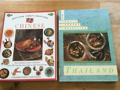 Two Cookbooks - Chinese & Exotic Cookery