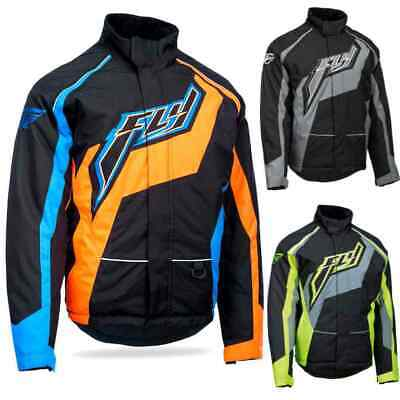 Fly Racing Outpost Trail Mens Sled Snocross Skiing Snowmobile Jackets