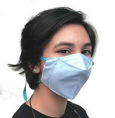 100% Cotton Handmade Face Mask, Washable, Reusable, Adjustable Virus Protection